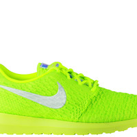 Nike Women's Roshe Run Flyknit NM Volt