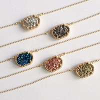 Druzy Necklace - Multiple Options