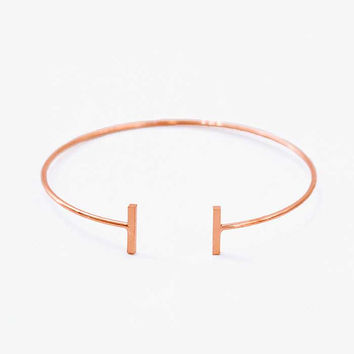 Futuristic Bar Bangle
