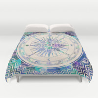 Follow Your Own Path Duvet Cover by Bianca Green