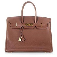 Hermes Vintage Havenne Togo Leather Birkin 35 Handbag | Hermes Handbags from Bag Borrow or Steal?