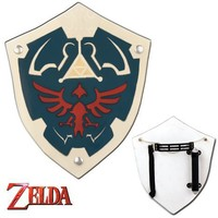 Wooden Costume Link Hyrule Video Game Play Toy Shield