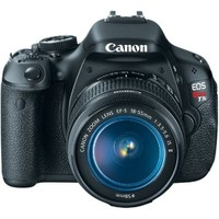 Canon EOS Rebel T3i 18 MP CMOS Digital SLR Camera and DIGIC 4 Imaging with EF-S 18-55mm f/3.5-5.6 I
