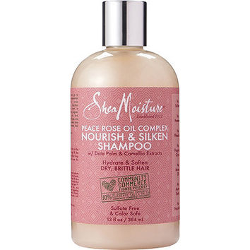 SheaMoisture Peace Rose Oil Complex Nourish & Silken Shampoo