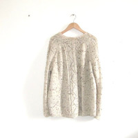 Chunky Cream Aran Knit Jumper