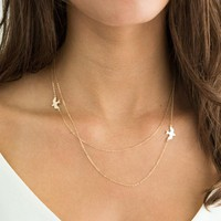 Tiny Birds Necklace