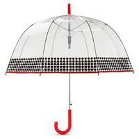 ShedRain Bubble Umbrellas - Clear Polka Dot