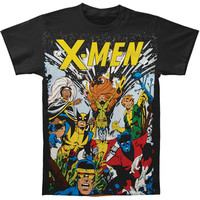 X-Men Men's  The Gang Subway T-shirt Black