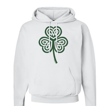 Celtic Knot Irish Shamrock Hoodie Sweatshirt