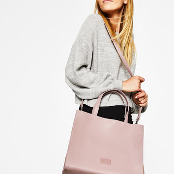 Soft tote bag - Bags - Bershka United States