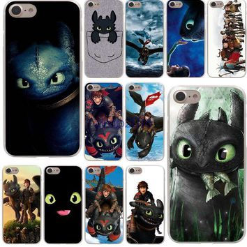 Toothless Train Your Dragon Hard Phone Cover Case for iphone5s 6 6s plus 7 7plus