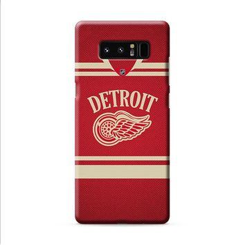 DETROIT USA HOCKEY Samsung Galaxy Note 8 case