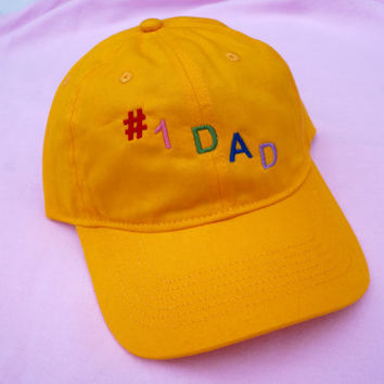 NUMBER 1 DAD HAT
