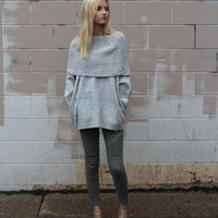 Louise Off The Shoulder Sweater