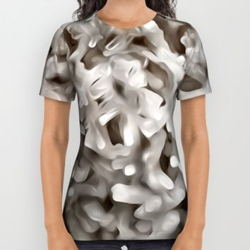 Celestite Frost All Over Print Shirt by UMe Images