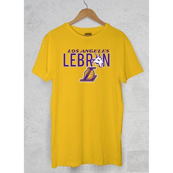 LeBron James Los Angeles LA Lakers 23 Goat Unisex Graphic T Shirt