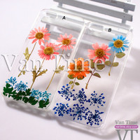 Pressed Flower case, Daisy sunflower Lace, iPhone 5 case iPhone 4 case iPhone 4s case iPhone 5s case iPhone 5c case Galaxy S4 S5 Note 3, 068
