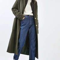 TALL Longline Slouchy Coat - Jackets & Coats - Clothing