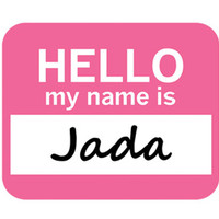 Jada Hello My Name Is Mouse Pad