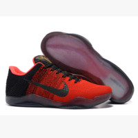 Men Kobe XI Weave Nike Basketball Grender Shoe Gradient Red
