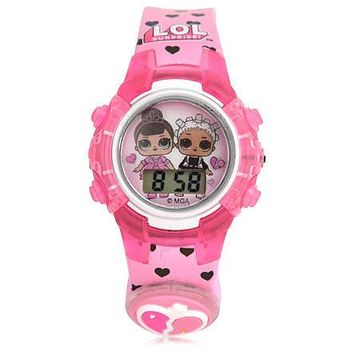 LOL Surpise Light Up LCD Watch MGA Entertainment