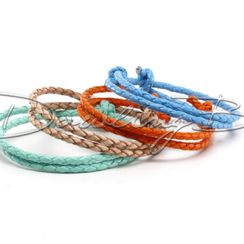 Summer Camp Braided Leather