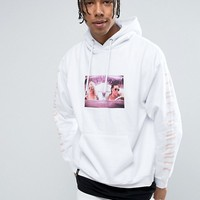 Wasted Paris Hoodie With True Romance Print at asos.com