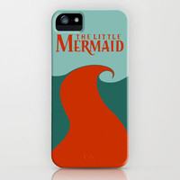 The Little Mermaid iPhone Case by Citron Vert | Society6