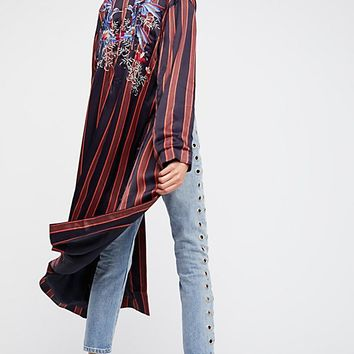 Atrium Striped Duster