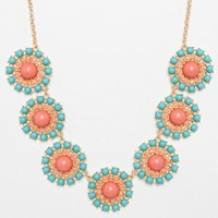 Eugenia Necklace in Aqua Rose - ShopSosie.com