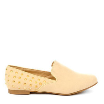 Robin Studded Flats in Black and Silver :: tobi