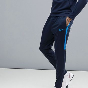 Nike Football Training Academy Dry Joggers In Blue 839363-458 at asos.com