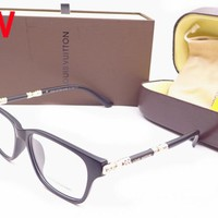 LV Louis Vuitton Women Casual Popular Summer Sun Shades Eyeglasses Glasses Sunglasses