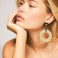 Wicker Wishes Earring