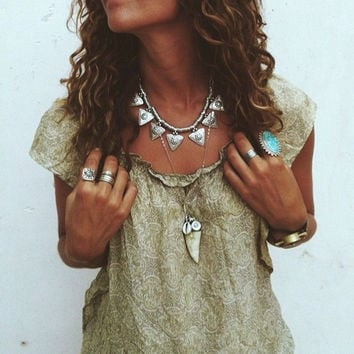 Boho Clavicle Necklace