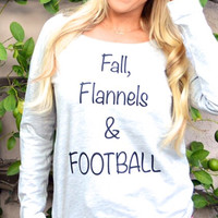 Fall, Flannels and FOOTBALL