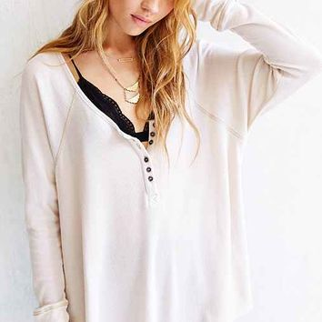 Truly Madly Deeply Boyfriend Thermal Henley