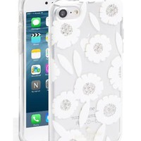 Kate Spade | White Jeweled Majorelle Iphone 7 Case | Lyst