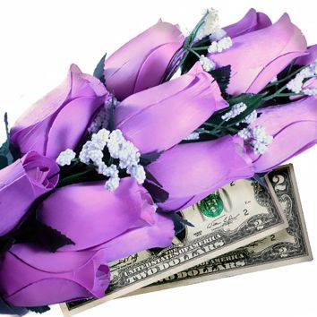 Lavender Bouquet | Cash Roses®