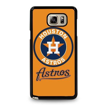 HOUSTON ASTROS BASEBALL Samsung Galaxy Note 5 Case Cover