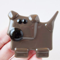 Dog Lover Magnet - Refrigerator Magnet - Fridge Magnet - Dog Lover Gift  - Gift for Dog Lover - Stocking Stuffer - Chocolate Brown Lab