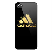 Best New Rare ADIDAS GOLD SPLASH Logo Print On Hard CASE iPhone 6/6s 6s+ 7 7+