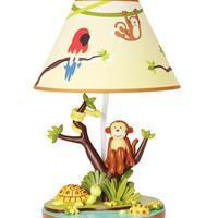 Guidecraft Jungle Party Tabletop Lamp - G86907