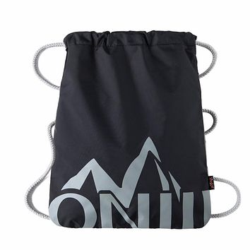 Simple Waterproof Drawstring Backpack Solid Tote Ultralight Bag Yoga Fitness Gym Bag Sports Mountaineering Bags For Women Men