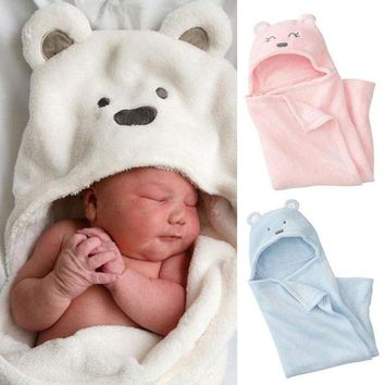ac VLXC Coral cashmere blankets hold the newborn baby [120877449241]