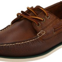 Polo Ralph Lauren Men's Bienne Boat Shoe, Brown Leather, 10.5 D US