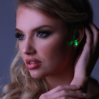 LED Earrings - 7 color options! Perfect for festivals, costumes, raves, parties, EDC & Ultra!