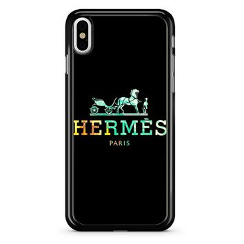 Hermes Logo iPhone X Case