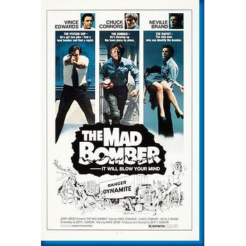 "The Mad Bomber poster 24""x36"""