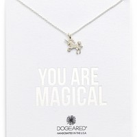 Dogeared 'You Are Magical' Magical Unicorn Pendant Necklace | Nordstrom